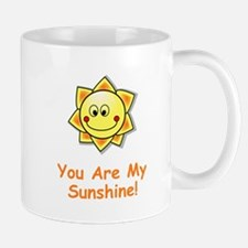 You Are My Sunshine Orange Mugs