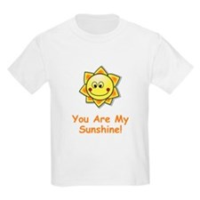 You Are My Sunshine Orange T-Shirt