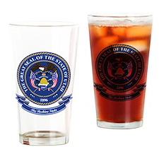 Utah Seal Drinking Glass