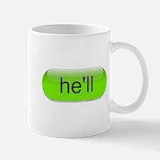 Hell (Autocorrect), Mug