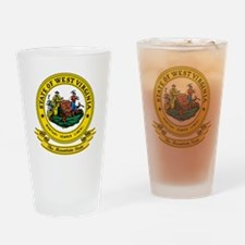 West Virginia Seal Drinking Glass