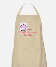 Cupcakes are: Apron