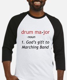 Definition of Drum Major Baseball Jersey