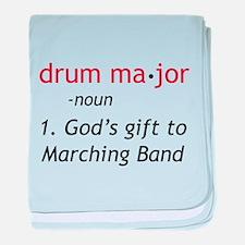Definition of Drum Major baby blanket