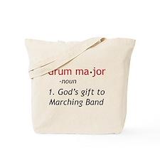 Definition of Drum Major Tote Bag