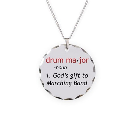 definition of drum major necklace by marchingstuff