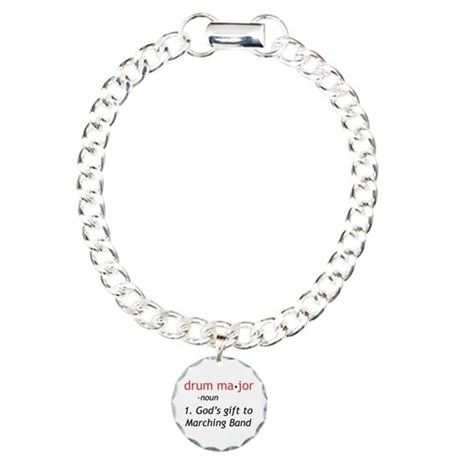 Definition of Drum Major Charm Bracelet, One Charm