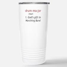 Definition of Drum Major Travel Mug