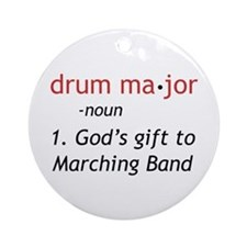 Definition of Drum Major Ornament (Round)