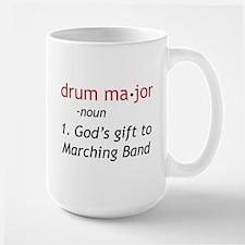 Definition of Drum Major Large Mug