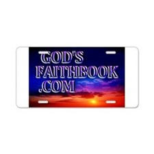 Cute Christian socialism Aluminum License Plate