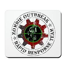 Zombie Outbreak Rapid Response Mousepad