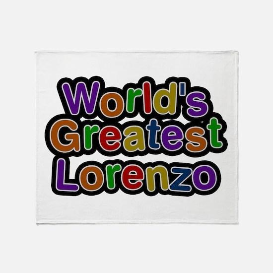World's Greatest Lorenzo Throw Blanket