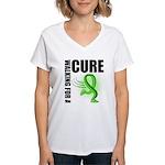Muscular Dystrophy Walk Women's V-Neck T-Shirt