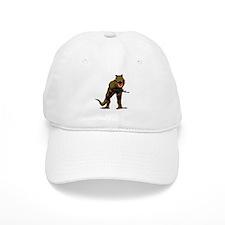 T Rex w AK Baseball Baseball Cap