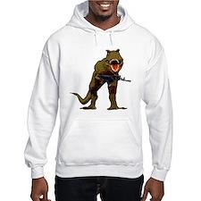 T Rex w AK Hoodie