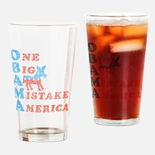 One Big Ass Mistake Drinking Glass
