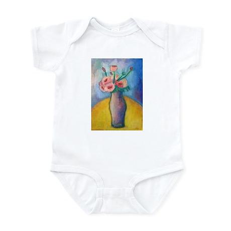 PINK ROSES Infant Bodysuit