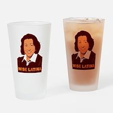 Sotomayor Wise Latina Drinking Glass