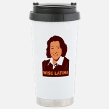 Sotomayor Wise Latina Stainless Steel Travel Mug
