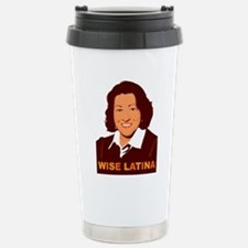 Sotomayor Wise Latina Travel Mug