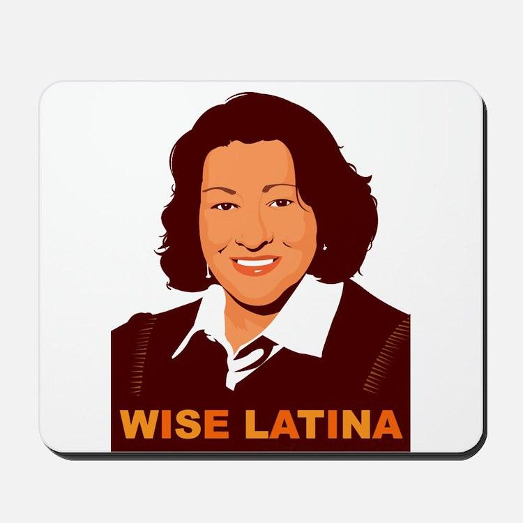 Sotomayor Wise Latina Mousepad