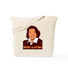 Sotomayor Wise Latina Tote Bag