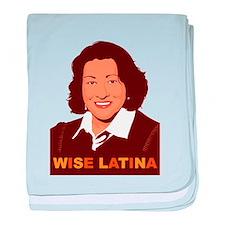 Sotomayor Wise Latina baby blanket