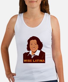 Sotomayor Wise Latina Women's Tank Top