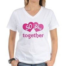 50th Anniversary Hearts Shirt