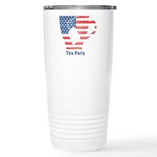 American Tea Cup Travel Mug