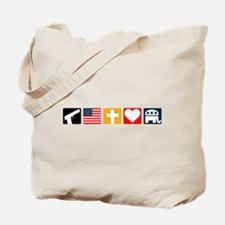 Right Priorities Tote Bag