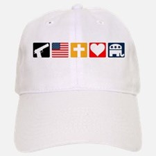 Right Priorities Baseball Baseball Cap