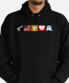 Right Priorities Hoodie (dark)