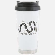 Unite or Die Stainless Steel Travel Mug