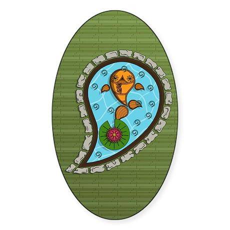 Scales Sticker (Oval)