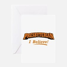 Presbyterian / Believe Greeting Card
