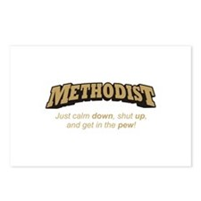 Methodist / Pew Postcards (Package of 8)