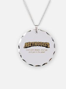 Methodist / Pew Necklace