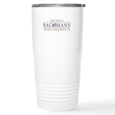 Michele Bachmann 2012 Stainless Steel Travel Mug