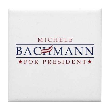 Michele Bachmann 2012 Tile Coaster