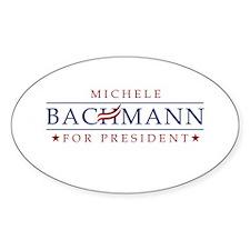 Michele Bachmann 2012 Decal