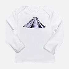 Temple of Kukulkan Icon Long Sleeve Infant T-Shirt