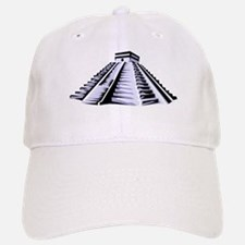 Temple of Kukulkan Icon Baseball Baseball Cap