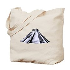 Temple of Kukulkan Icon Tote Bag