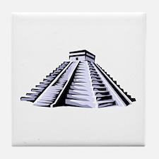 Temple of Kukulkan Icon Tile Coaster
