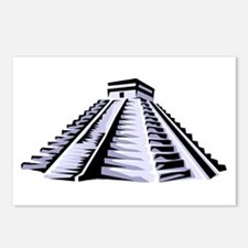 Temple of Kukulkan Icon Postcards (Package of 8)