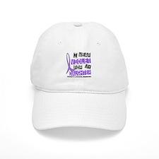 I Wear Violet 37 Hodgkin's Lymphoma Baseball Cap
