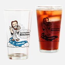 Levitation Bitches Drinking Glass