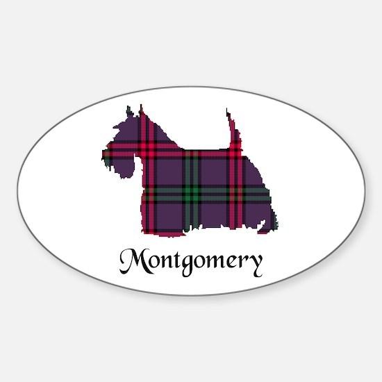 Terrier - Montgomery Sticker (Oval)